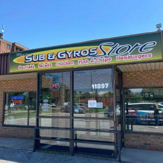 Tina's Sub & Gyros Store