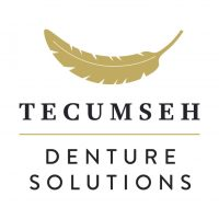 Tecumseh Denture stacked logo