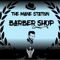 The Mane Station Barber Shop logo