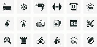 hotel amenities icon